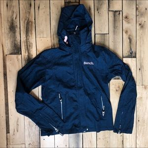 Girls Bench Zip Up Jacket